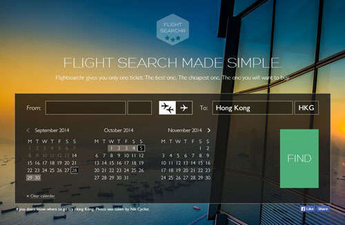 Flight Searchr