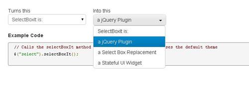 Jquery SelectBoxIt.js
