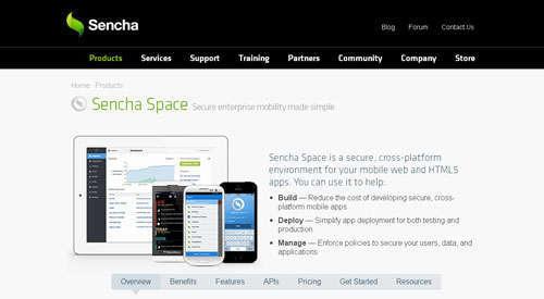 Sencha Space
