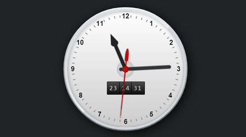 CSS3 Working Clock
