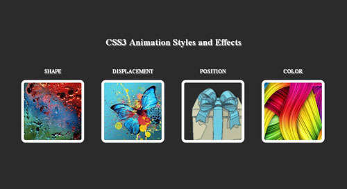 CSS3 Animations Style And Effects