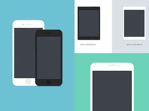 9 Free Devices PSD