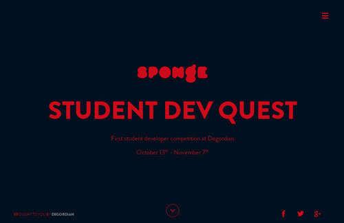 Sponge Student Dev Quest
