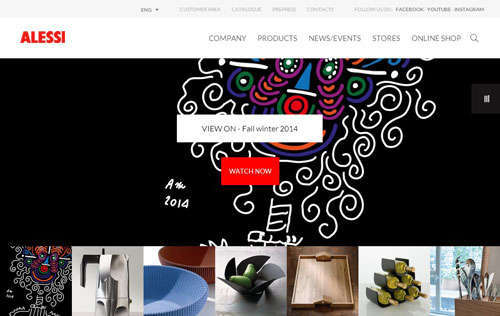 Alessi Corporate Website