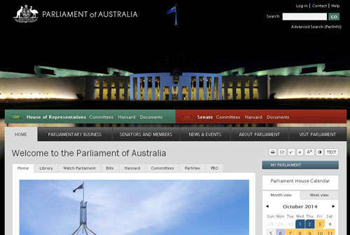 Parliment Of Australia