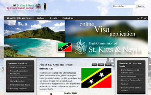 St Kitts & Nevis High Commission London