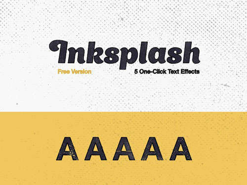 Inksplash Free Text Effects