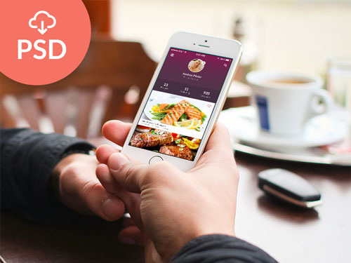 Recipes App Design PSD
