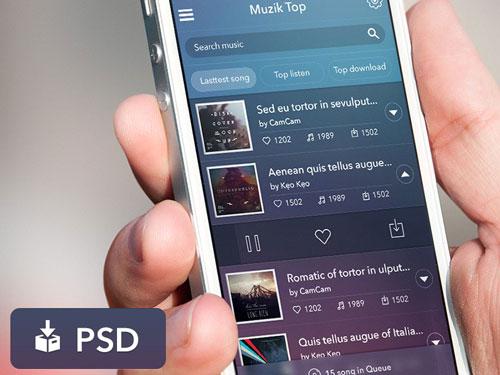 App Music UI