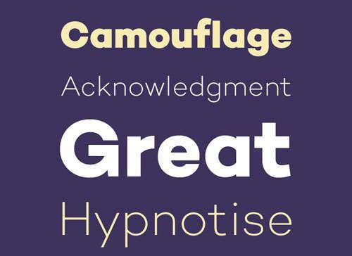 Campton Free Font