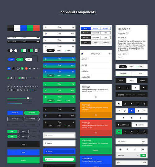TETHR iOS UI Kit