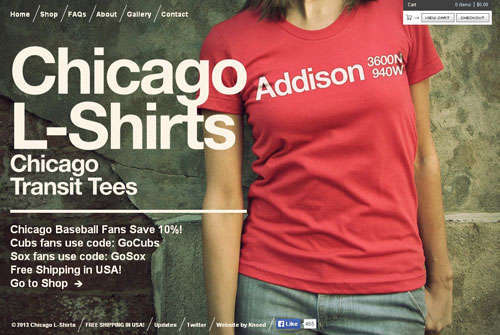 Chicago L-Shirts