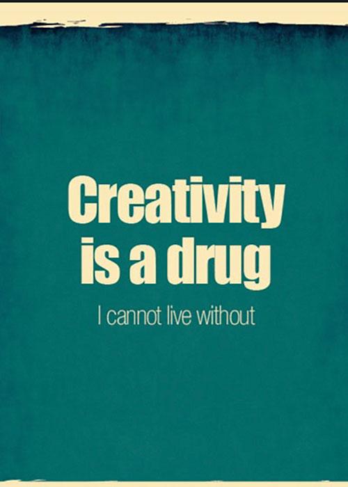 creativity-is-a-drug