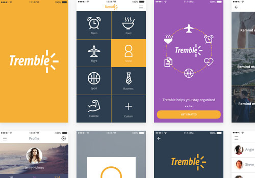 Tremble iOS UI Kit