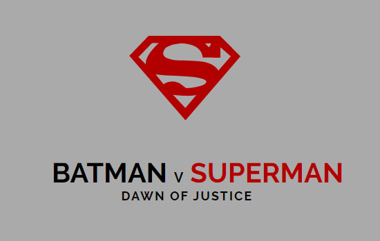 Batman vs Superman: Dawn of Justice [SVG]