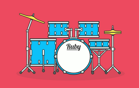 SVG Animated Drum Kit