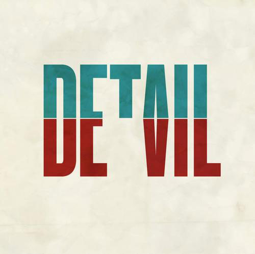 Devil in the Detail in Typography Design Inspiration