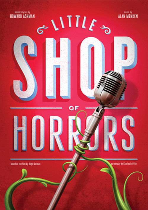Little Shop of Horrors in Typography Design Inspiration
