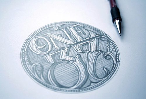Hand Lettering in Typography Design Inspiration